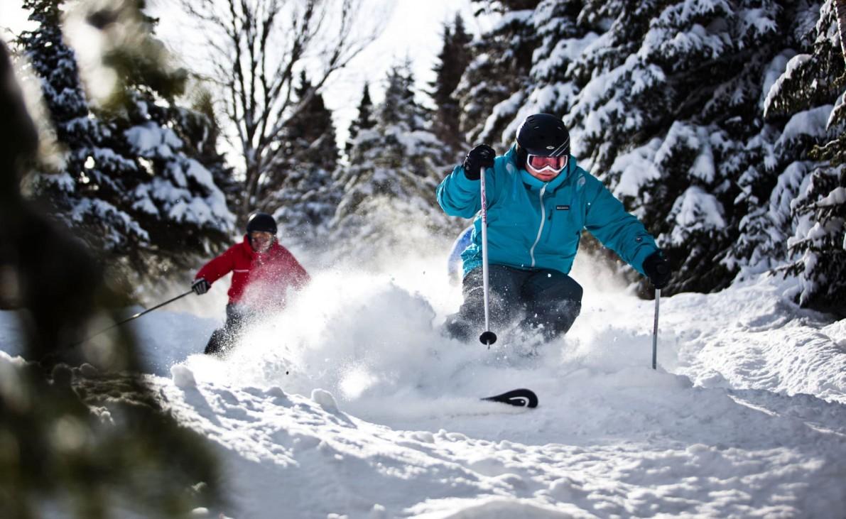 L'hiver débute en force au Mont-Sainte-Anne!