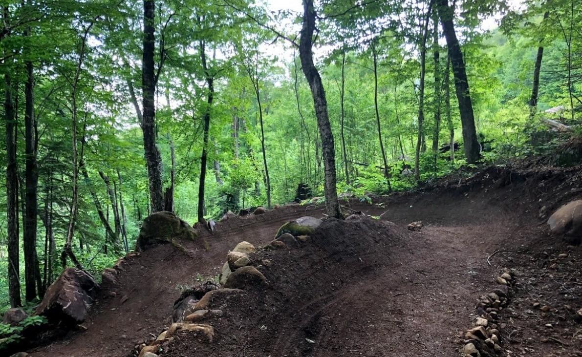 Nouvelle piste de vélo de montagne : la Baptême